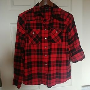 Perfect flannel for fall!